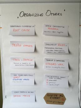 Organizing disorganized people